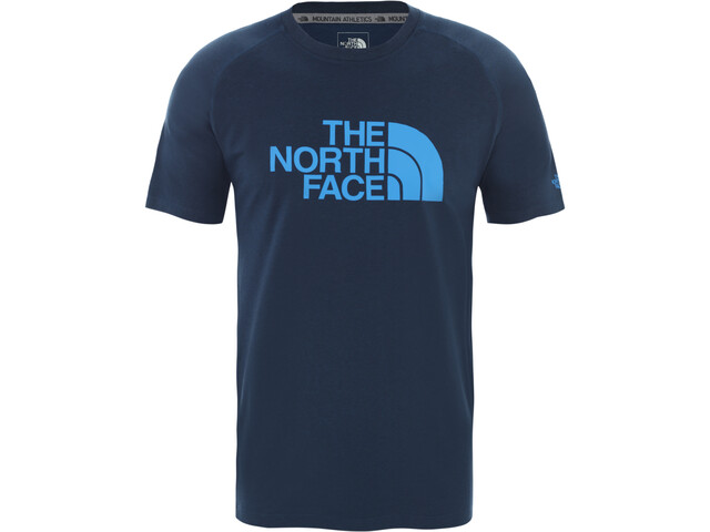 The North Face Wicker Graphic T-shirt Col ras-du-cou Homme, blue wing teal heather
